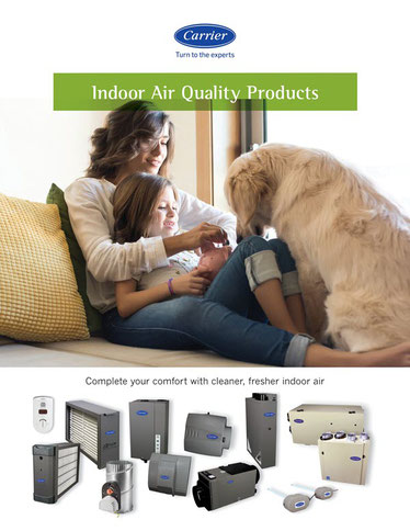 Carrier EZ Flex indoor air quality products