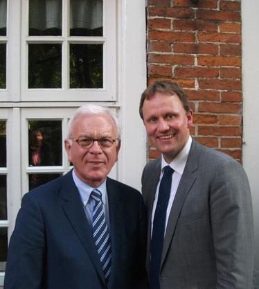 Dr. Hans-Gert Pöttering MdEP und Jens Gieseke