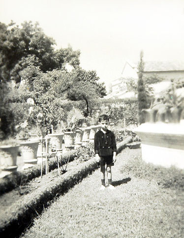 Meherwan Jessawala, Mary Lodge, Nagpur, circa mid-1930's. Courtesy of the Jessawala Collection - AMB Archives, Meherabad, India.