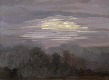 """Martin Guido Becker, """"Nocturne"""", 2008, Öl/Lwd, 60/80 cm"""