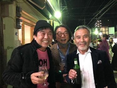 BEAMS設楽社長とアニョ~ズ曽山さんとBOSS