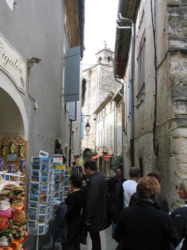 Bild: in den Straßen von Grignan