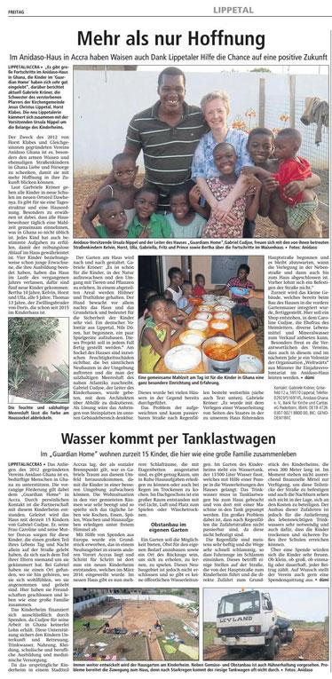 Bericht Soester Anzeiger 29.12.2017