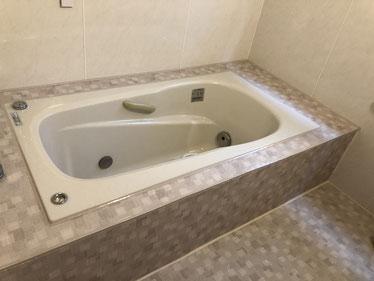 施工事例2989 渋谷区浴室専用シート工事