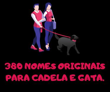 380 nomes originais para cadela e gata.