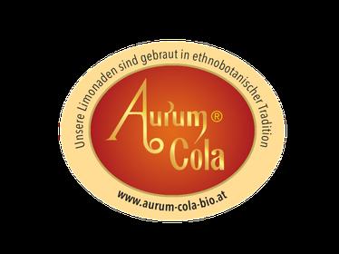 Aurum Cola Logo hergestellt in ethnobotanischer Tradition