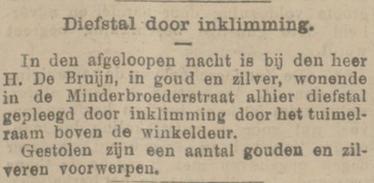 Provinciale Noordbrabantsche en 's Hertogenbossche courant 21-11-1904