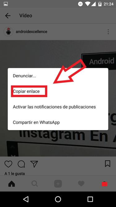 Cómo Descargar Vídeos De Instagram En Android