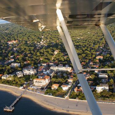 Flight tour Arcachon