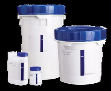 212539 Growth Equipo para Tinción de Gram, 4 frascos de 250 ml
