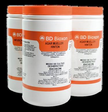 211689 BD Bioxon® Medio para Antibióticos No. 2 (Agar Base), 450 g
