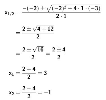 nullstellen quadratischer funktionen mathetraining fuer