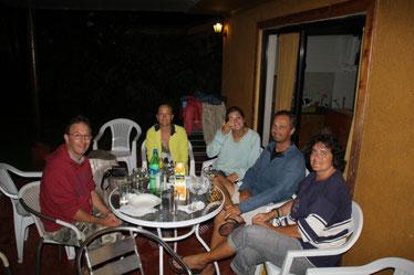 Soirée avec le famille Gerbaud