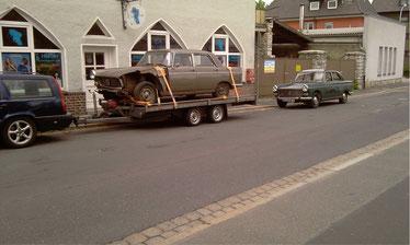Peugeot 404, aus zwei macht ein!