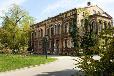 Späth'sche Baumschulen: Historisches Herrenhaus von 1874, (Foto: Daniela Incoronato)