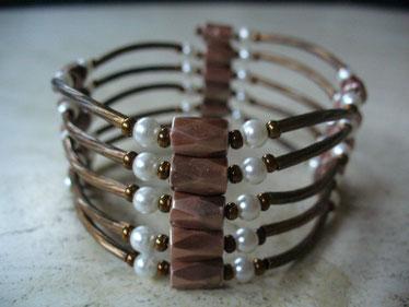 bijou magnétique barrettes couleur cuivre
