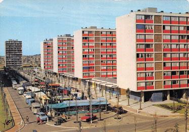 Vélizy-Villacoublay - Le marché du Mail - Date d'oblitération : 30-12-1986