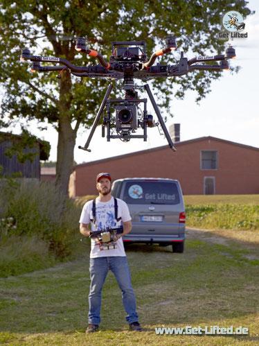 Get Lifted Oktocopter mit Alexa Mini Deutschland