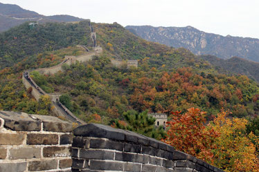 Chinesiche Mauer, Große Mauer, Muntianyu, Peking, China