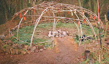 Wikipedia - Sweat Lodge Üxheim Eifel, geb. 1991 d. Archie Fire Lame Deer