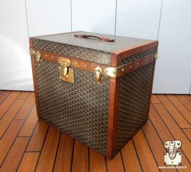 Goyard hat suitcase trunk