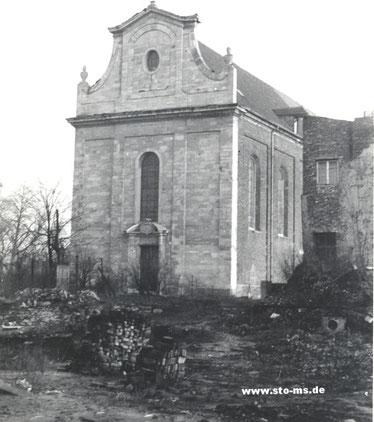 Die Aegidiikirche um 1950
