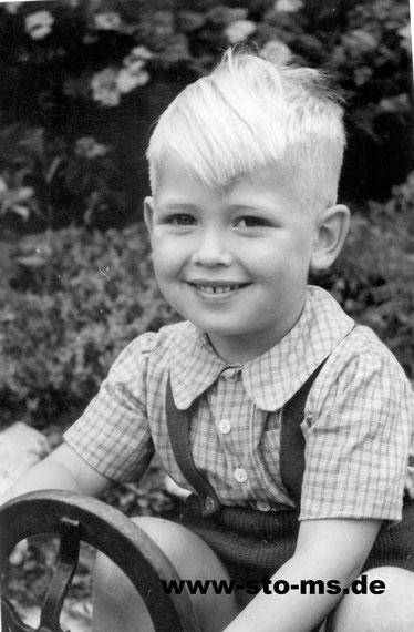Steffi im Kindergarten 1951