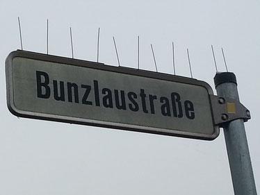 Foto: Straßenschild / NABU Mathias Kumitz