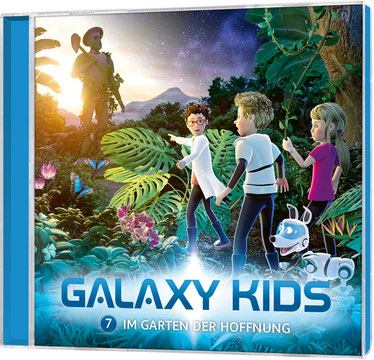 CD-Cover Galaxy Kids - Folge 7