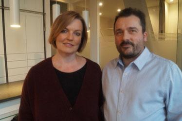 Petra und Thomas Krursel, Geschäftsführer Thomas Krursel Orthopädieschuhtechnik, Münster