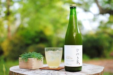 岡山ひのき葉から生まれた「ひのき茶」