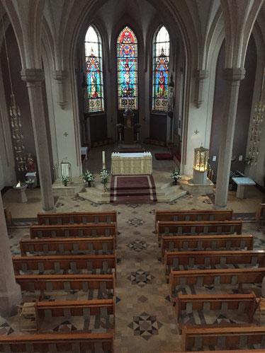 Die St.Olav Kirche war einer der Einsatzorte von Tabea