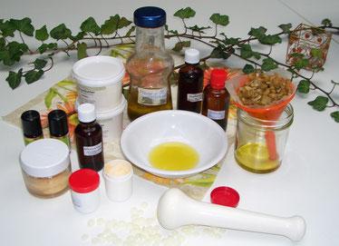 Herstellung von Cremes, Salben, Ölen und Tinkturen