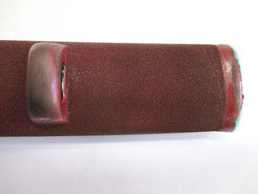 鞘 乾漆粉を固める 鯉口