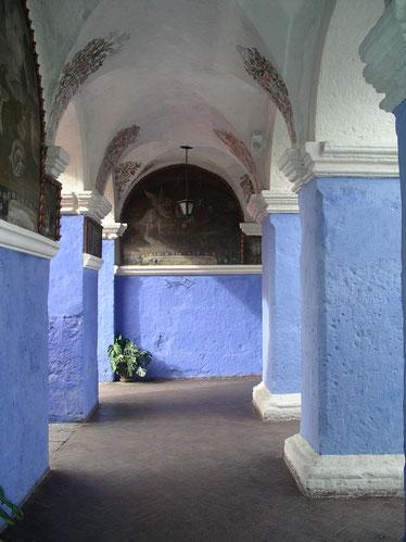 Besuch vom Santa Catalina Kloster in Arequipa, Peru