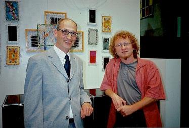 Kunsthistoriker Dr. Thomas Ernst Wanger und Vlado Franjević