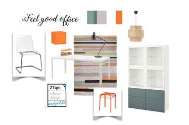 Möbel Raumkonzept Arbeitszimmer