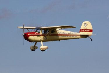 Cessna C140 - D-EWUW (Foto: Ralph Hardel)