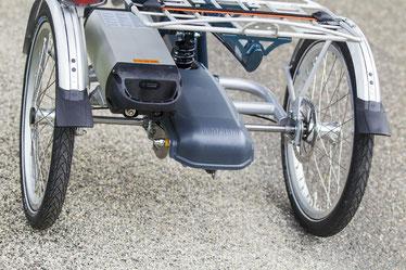 Wenn Ihr Akku langsam den Geist aufgibt, kann ein neuer Ersatzakku die Lebensdauer Ihres Dreirads verlängern