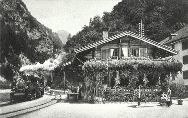 Verlag Kompèr Janett, gestempelt 03.06.1914