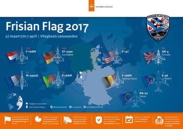 Frisian Flag 2017 Leeuwarden