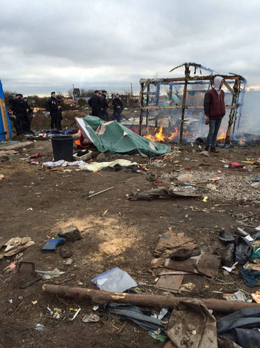 Calais jungle, refugee crisis, France