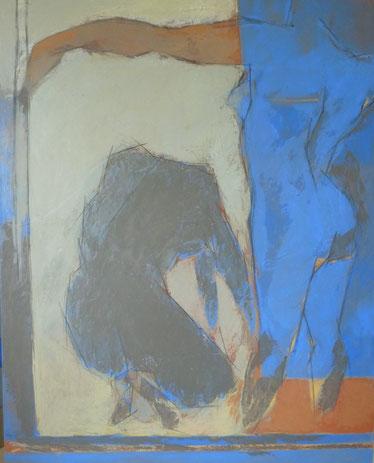 Larmes du crime / Huile sur toile 162 x 130