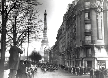 photo Paris vers 1920 mode de vive change