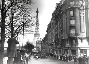 photo Paris vers 1920 mode de vive change