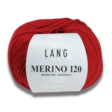 Lang Yarns Merion 120 auf Monis Masche
