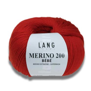 Lang Yarns Merino 200 Bebe auf Monis Masche