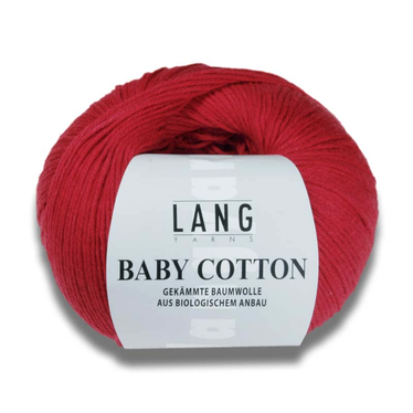 Lang Yarns BABY COTTON auf Monis Masche