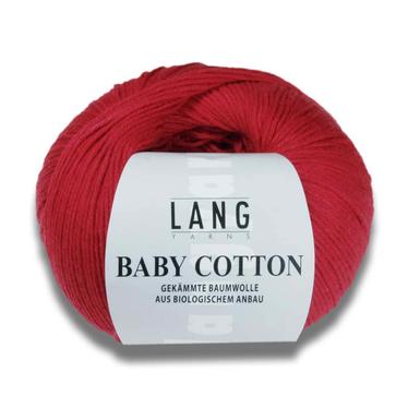 Lang Yarns BABY COTTON auf Monis Masche