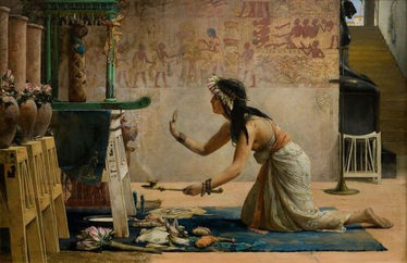 John Weguelin - Ancient Egyptian Priestess